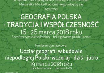 Wystawa i konferencja w Sejmie RP z okazji 100-lecia PTG