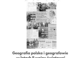 Geografia polska i geografowie w latach II wojny światowej