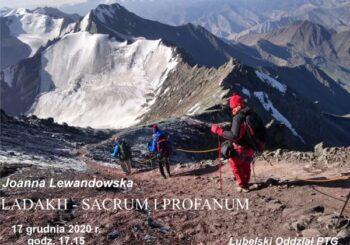 Prelekcja pt. Ladakh – sacrum i profanum