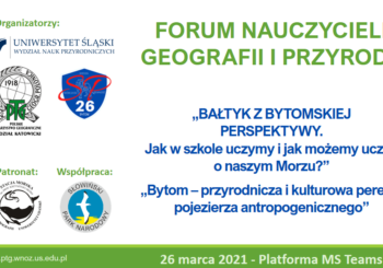 Forum Nauczycieli Geografii i Przyrody 2021