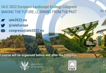 IALE 2022 European Congress – New congress date: 11-15 July 2022!