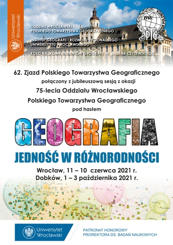62. Zjazd PTG - Plakat